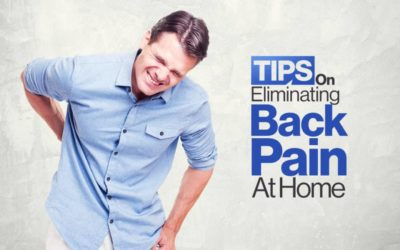 Tips On Eliminating Back Pain At Home