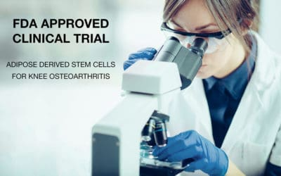 FDA Approved Clinical Trial on Stem Cell Derived from Patient's Own Fat to Treat Knee Arthritis Will Be Conducted at San Diego Orthobiologics Medical Group!