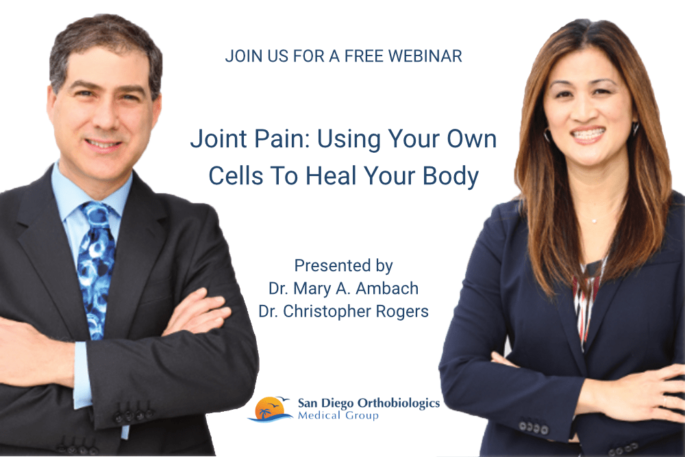 Free Webinar: Learn about Non-surgical Regenerative Medicine Therapies for Arthritis