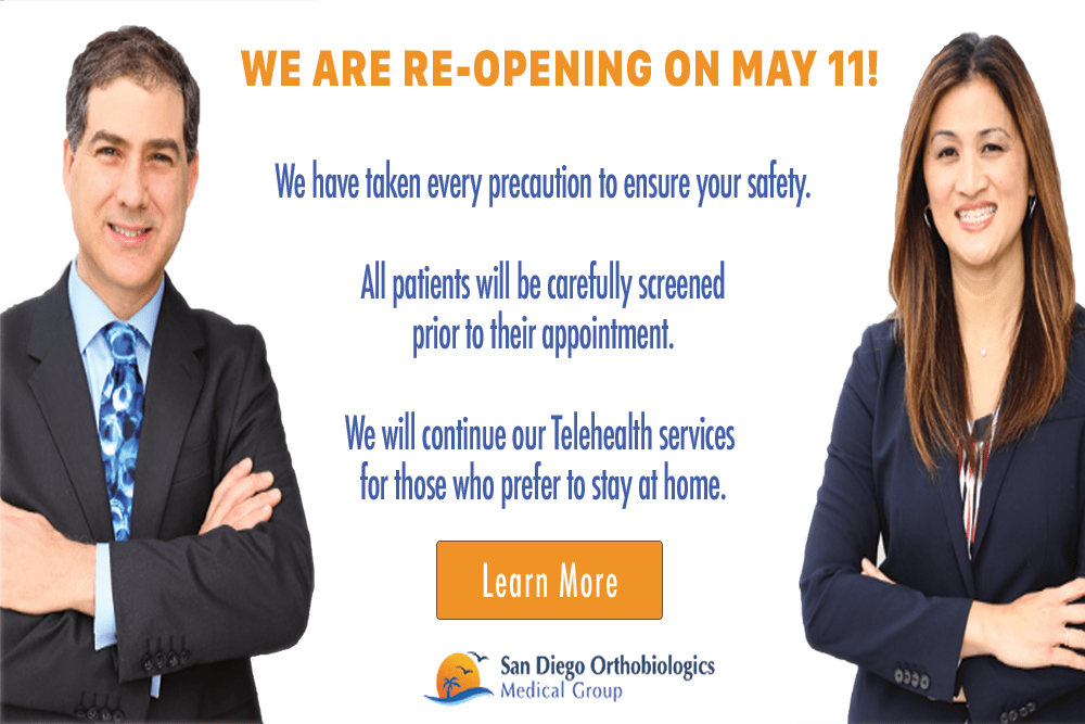 SDOMG is Re-Opening on May 11th!