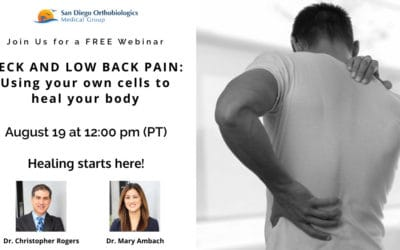 Watch Dr. Rogers and Dr. Ambach Present on Neck & Low Back Pain