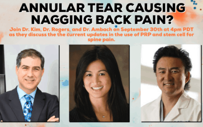 Expert Panel Discussion Webinar | Low Back and Neck Pain