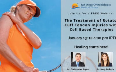 Treating Rotator Cuff Injuries with Cell Based Therapies