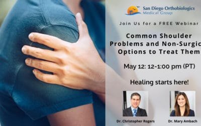 FREE Webinar: Non-Surgical Options to Treat Shoulder Problems