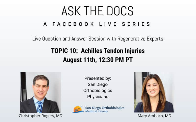 Ask the Docs: Achilles Tendon Injuries